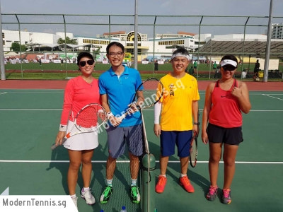 Modern Tennis - Adult Group Lesson