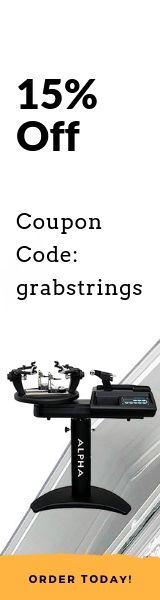 Side Banner Tennis Stringing