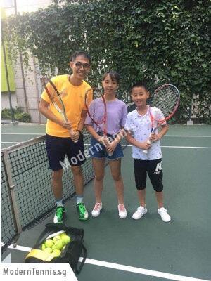 Kids Modern Tennis Singapore Novena