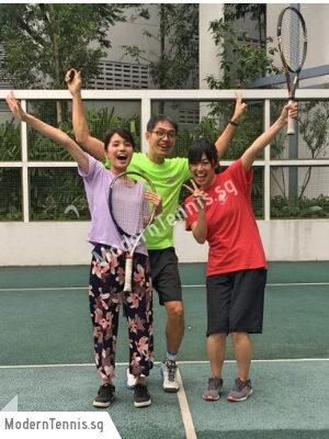 Modern Tennis Japanese Stdudent Orchard
