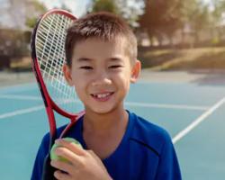 Private Kids Tennis Lesson