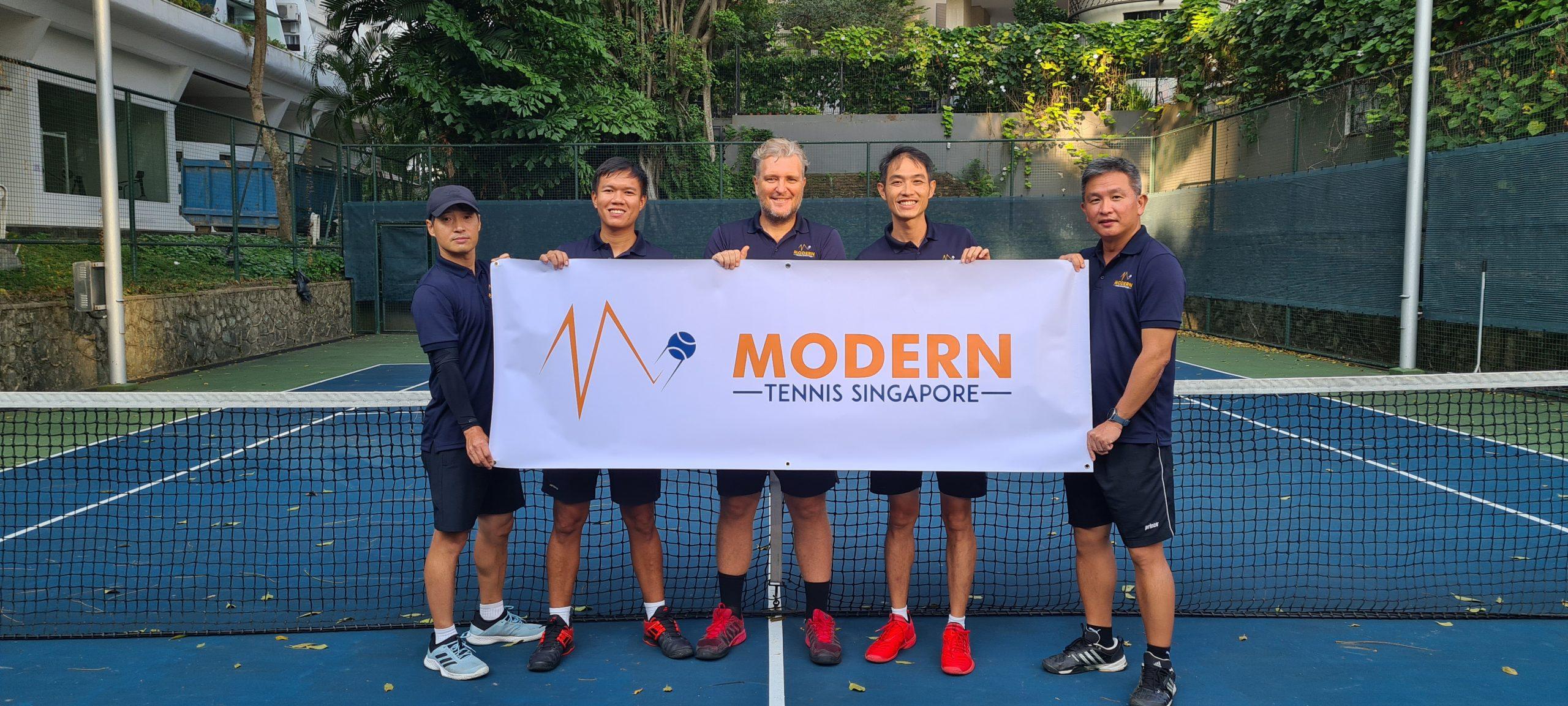 Modern Tennis Singapore Coaches Team