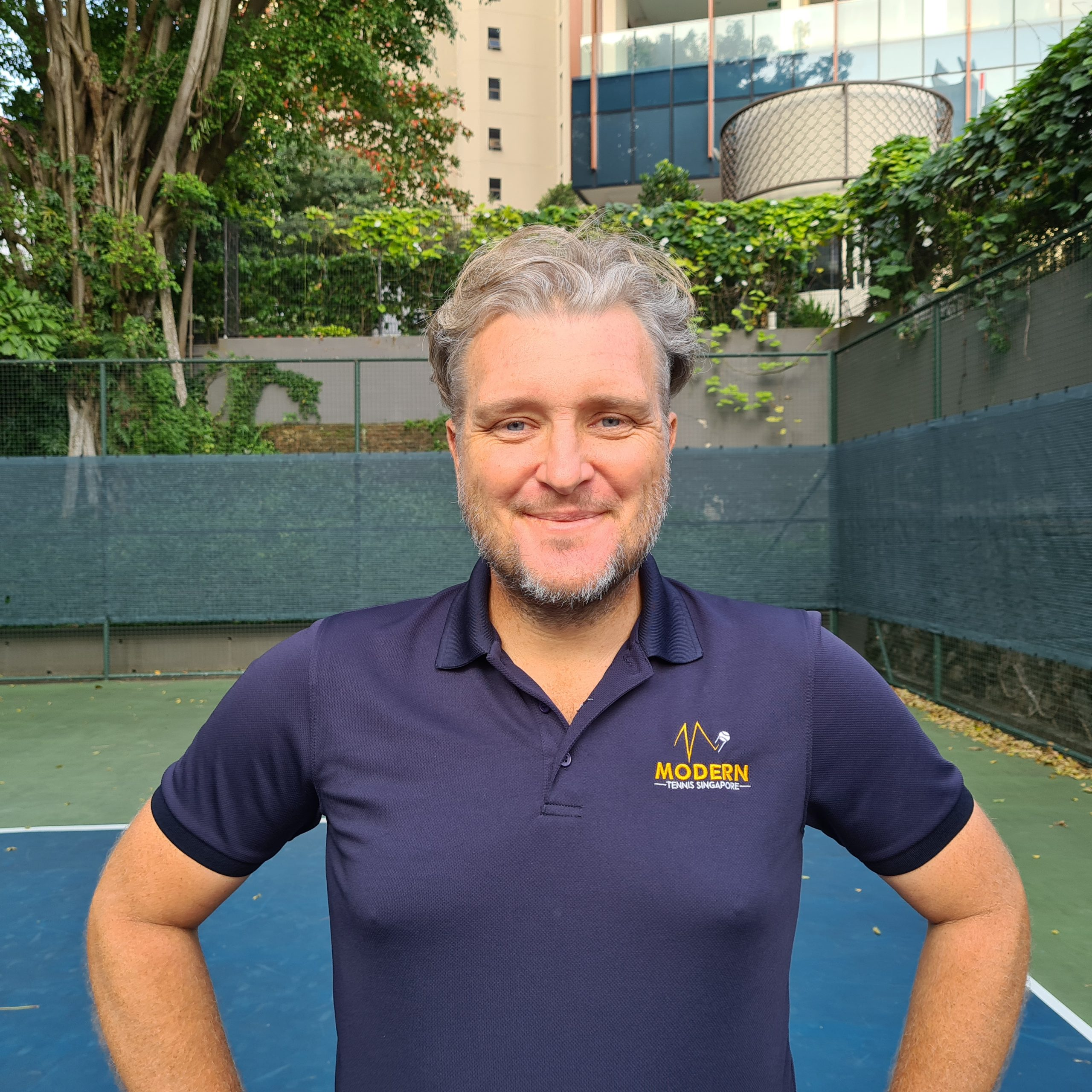 Coach David - Modern Tennis Singapore