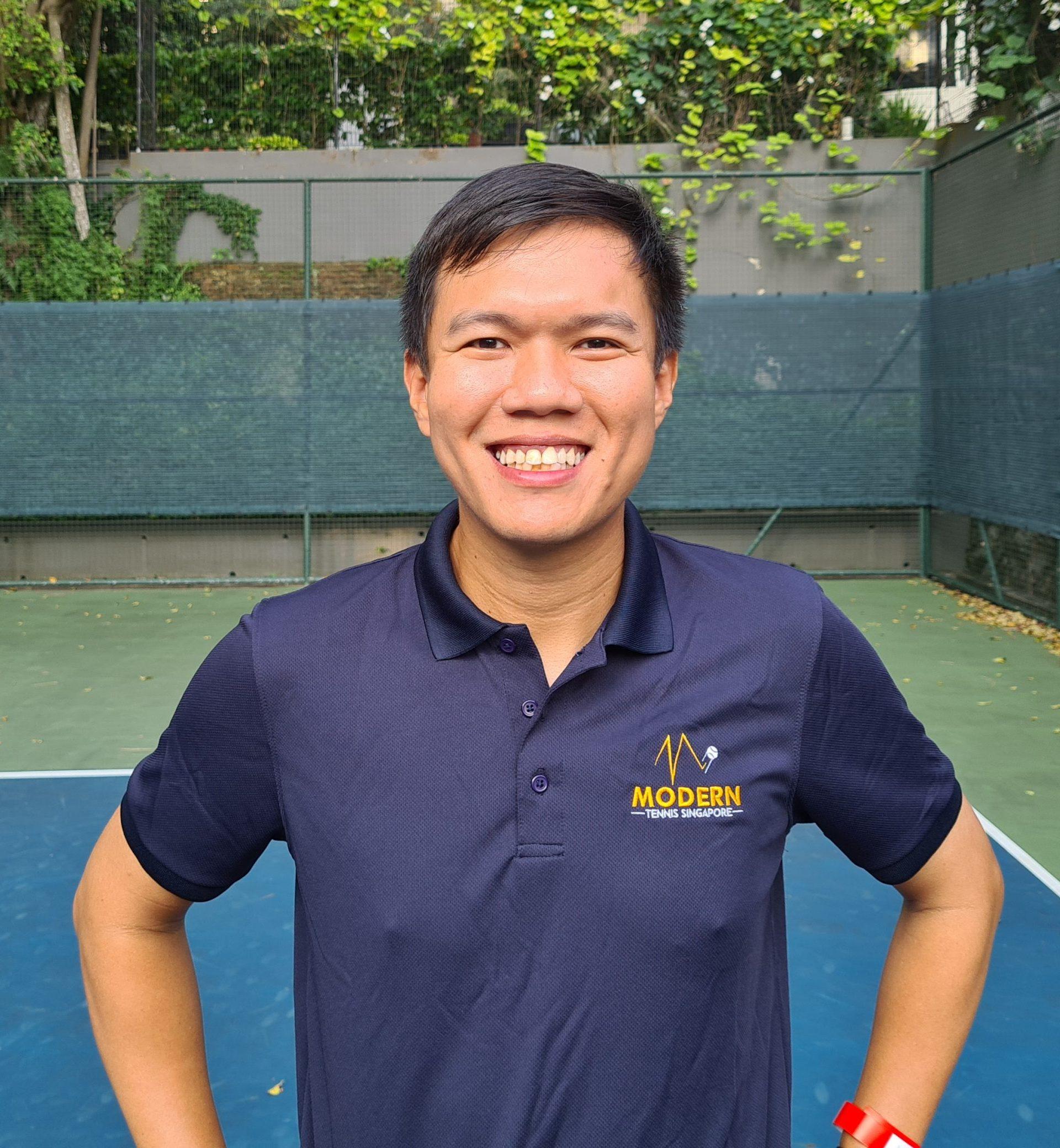 Coach Colin Modern Tennis Singapore