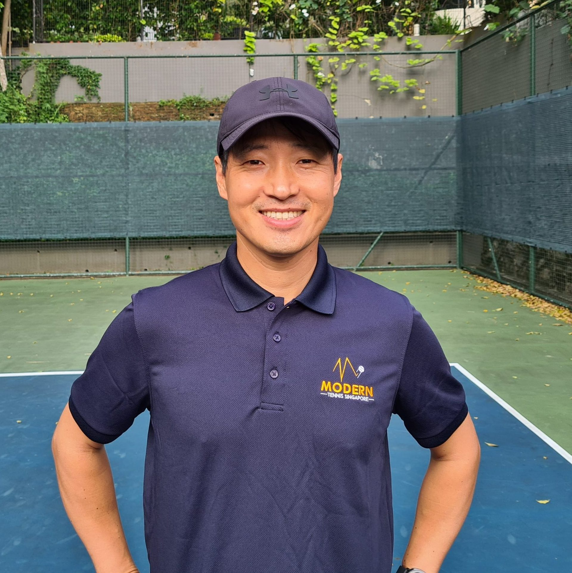 Coach James - Modern Tennis Singapore